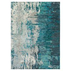 Misk Area Rug - Teal (Blue), Sage - (8' x 11') - Surya