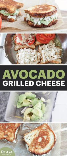 This Avocado Grilled Cheese is a totally delicious, grown-up version of the grilled cheese you grew up with.