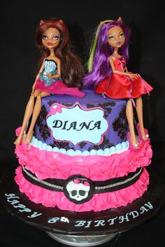 -  monster high birthday cake, tfl