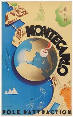 Monte Carlo pôle d'attractions (golf, tennis)