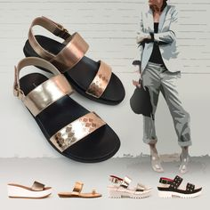 Spring Summer 2015, Summer Collection, Color Blocking, Footwear, Sandals, Bags, Beautiful, Shoes, Style