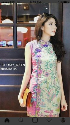 Batik Kebaya, Batik Dress, Blouse Dress, Dress Skirt, Mode Batik, Batik Solo, Batik Fashion, Blouse Models, Kurta Designs