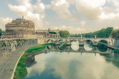 Rome / Tiber / vintage by ChristianThür Photography on Creative Market Rome, Christian, Marketing, Creative, Photography, Vintage, Architecture, Fotografie, Photography Business