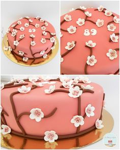 Flowers Cake  cherry blossoms
