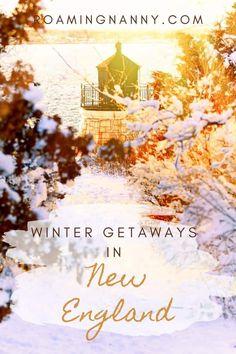 Winter Getaways in New England » Roaming Nanny Winter Getaways, Weekend Getaways, New England Travel, Getaway Cabins, Desert Island, Weekends Away, Winter Travel, Holiday Travel, United States Travel