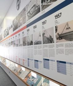 museum timeline display - Google Search More
