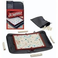 For the bus, plane, or train: Travel Scrabble! (I have this!)