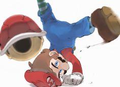 Super Mario Brothers, Super Mario Bros, Super Smash Bros Game, Super Mario Nintendo, Mario Fan Art, Mario Bros., Mario And Luigi, Mario Kart, Hama Beads Minecraft