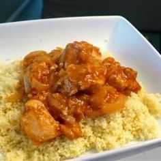 """Chicken Tagine with Couscous 