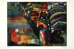 Wassily Kandinsky - Painting with houses