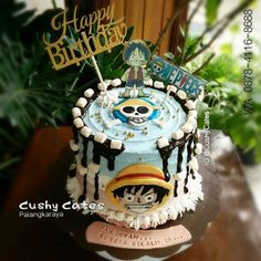 ONE PIECE -Cake idea for people who love the Anime - Cocomew is to share cute outfits and sweet funny things One Piece Theme, Anime Cake, One Piece Series, Hello Kitty Cake, Make Your Mark, Cute Cakes, Cake Ideas, Funny Things, Cute Outfits