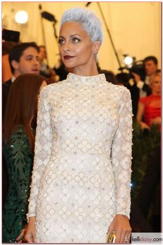 Nicole Richie in Topshop for The Met Gala 2013 PUNK: Chaos To Couture Costume Institute Gala