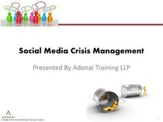 social-media-crisis-management-three-case-studies by Elisha Tan via Slideshare Social Networks, Social Media, Digital Trends, Case Study, Sample Resume, Management, Seo, Public, Articles