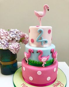 Birthday Treats, 3rd Birthday Parties, Birthday Cake, Flamingo Birthday, Flamingo Party, Flamingo Craft, Party Planners, Go Pink, Good Excuses
