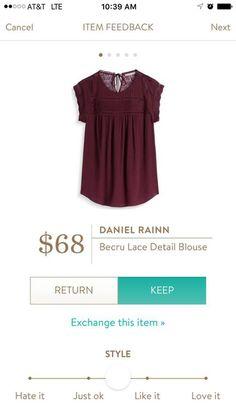 MARY, I really need this blouse.