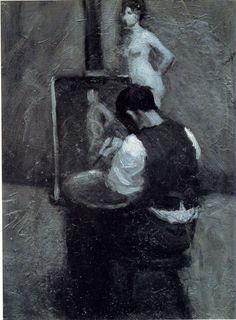 Edward Hopper, Malarz i modelka
