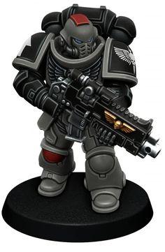 Warhammer Figures, Warhammer Paint, Warhammer 40k Art, Warhammer Models, Warhammer 40k Miniatures, Space Marine Dreadnought, Miniaturas Warhammer 40k, Marine Colors, Minis