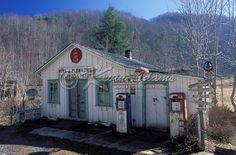 Old general store in the community of Luck in Madison County, North Carolina. The store is along a North Carolina scenic byway called the Appalachian Medley Scenic Byway. (Kevin Adams Photography)