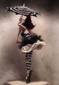 A night circus member