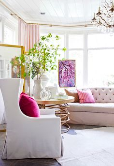17 Beautifully Feminine Rooms to Get Inspired By