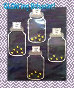We couldn't resist this sweet little camping themed behavior management display. How fun are the fireflies?! While some groups of students never need the added incentive, for those classrooms that...
