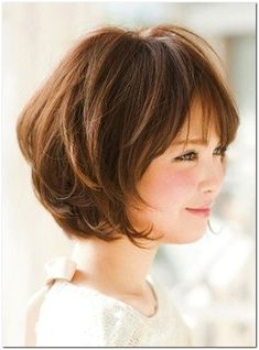 25 Latest Bob Hairstyles with Bangs 2017 Layered Bob with Bangs Related Trendy Styles of Bob Haircuts for Fine Inspiring Long Bob Hairstyles and Short Layered Bob Haircuts With Side Swept Bangs That Make You Look Younger Bob Hairstyles With Bangs, Bob Haircut With Bangs, Haircut For Thick Hair, Bangs Hairstyle, Hair Bangs, Layered Hairstyles, Haircut Medium, Haircut Long, Layered Bob Haircuts