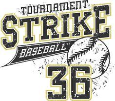Strike 36 Baseball Graphic in vector Design Baseball Shirt Designs, Baseball Vector, Baseball Tips, Baseball Shirts, Text Design, Vector Design, Basic Style, Shirt Style, Design Inspiration