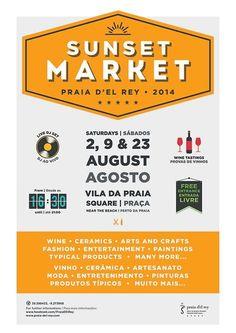 Sunset Market Poster