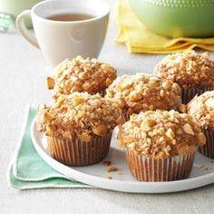 Banana Macadamia Muffins Recipe from Taste of Home -- shared by Stasha Wampler of Clinchport, Virginia