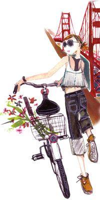 Frivole aime : Sujean Rim: The Daily Candy Illustrator