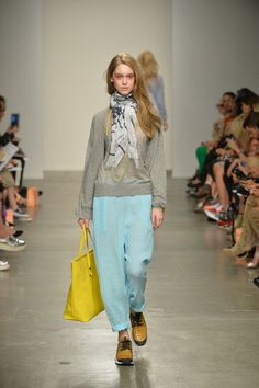 lovely colors combo {Karen Walker #Spring2014 Ready-to-Wear Collection} #nyfw