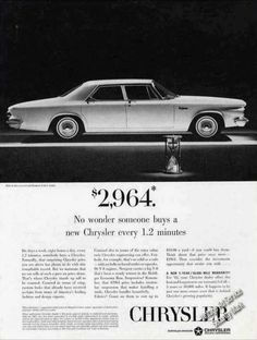 Chrysler Newport 4-door Sedan $2964 Collectible (1963)