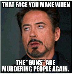 Guns don't kill people, people kill people