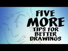 Better Drawing Want to become a better artist? In this video, I share five easy and quick tips that will improve your drawings! Check out the first tips for better line . Pencil Drawing Tutorials, Art Tutorials, Pencil Drawings, Sketchbook Drawings, Doodle Drawings, Drawing Skills, Drawing Tips, Drawing Techniques, Famous Animators