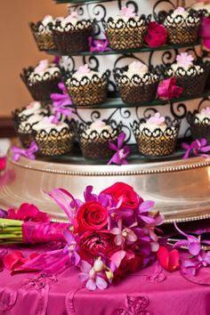 Roses and cakes