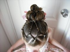 little girl hairstyle and tutu instructions
