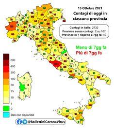 Il 15 ottobre settembre in Italia il totale delle persone che hanno contratto il virus è di 4.712.482 (+2.729). I tamponi effettuati sono 506.043, tasso di positività 0,5%. Il totale dei deceduti è 131.503 (+42). Il numero complessivo dei guariti è 4.502.457 (+3.533). Il numero totale di attualmente positivi è di 78.522 (-846). Tra gli attualmente positivi: 357 (-2) sono in cura presso le terapie intensive, 2.445 #contagi #Coronavirus #decessi #Italia #nuovi