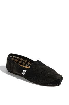 TOMS 'Classic Stone Washed Corduroy' Slip-On (Women) SIZE 10 PLEASE