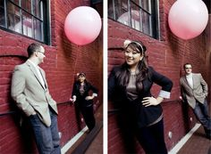 Use props during your e-session! Photo by Denise Lin Photography