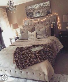Bedroom, fancy bedroom, room ideas bedroom, apartment bedroom decor, be Apartment Bedroom Decor, Room Ideas Bedroom, Bedroom Colors, Bed Room, Bedroom Bed, Bedroom Ideas Rose Gold, Master Bedroom, Bedroom Ceiling, Bedroom Designs
