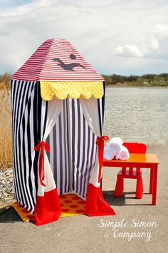 Make a PVC Summer Cabana. It's lightweight, easy to put together, easy to store and fun to build with. The girls from Simple SImon and Company show us how to do it!