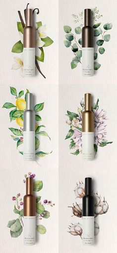 Holiday Table perfume packaging by Eulie Lee / De Yool Studio #cosmeticos #cosmetics #makeup