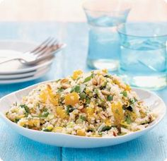 Quinoa with Orange, Ginger, Parsley and Pine Nuts More