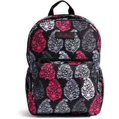 Vera Bradley Lighten Up Just Right Backpack in Northern Lights ($88) ❤ liked on Polyvore featuring bags, backpacks, northern lights, light weight backpack, lightweight backpack, polyester backpack, vera bradley and water resistant bag