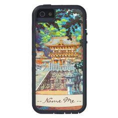 Tsuchiya Koitsu The Gate Yomei the Nikko Shrine iPhone 5 Cases#iphone5 #iphone #gate #japanese #shrine #cases #covers
