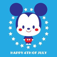 I'm celebrating all things Disney in my latest release- Kingdom of Cute. This piece will be available in the Disney Dream Store at EXPO 2015 taking place August at the Anaheim Convention. Patriotic Wallpaper, 4th Of July Wallpaper, Mickey Love, Mickey Minnie Mouse, Baby Disney, Disney Art, Disney Stuff, Disney Crafts, Holiday Cartoon