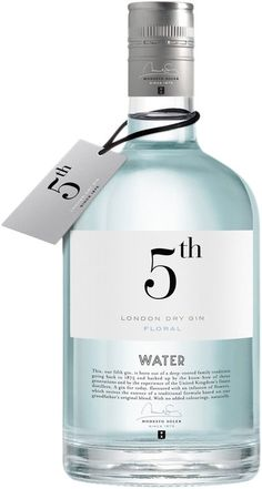 Gin 5th Water (Floral), London dry water