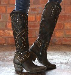 Old Gringo Belinda Black Boots L903-10