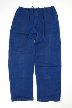 Material:Canvas cotton Color:Faded pink These pants have damages and stains. Vintage Clothing, Vintage Outfits, Hunting Pants, Kind Of Blue, Vintage Canvas, Jodhpur, Kimono Fashion, Work Pants, Workwear