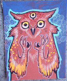 owl monster (missmonster, 2007)